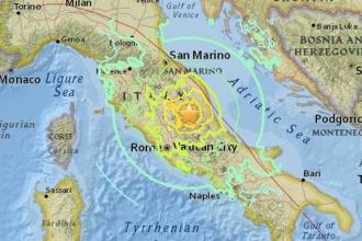 İtalya'da üç deprem birden
