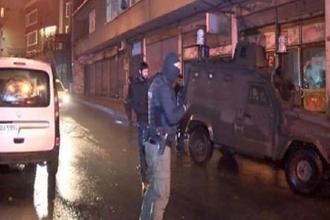 Okmeydanı'da Gençlik Federasyonu'na polis baskını