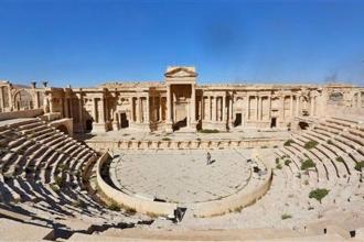 IŞİD, Palmira'da antik tiyatroyu yıktı