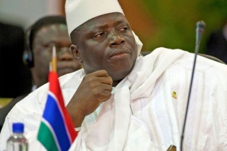 Gambiya Devlet Başkanı'na öğlene dek mühlet
