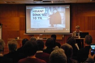 Hrant Dink Stockholm'de anıldı