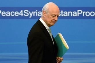 BM Suriye Temsilcisi: Cenevre'de gelişme beklemiyorum