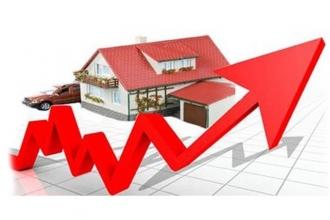 Konut fiyat endeksi yüzde 0,72 arttı