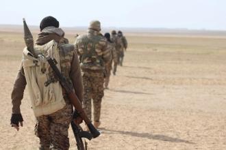 SDG, havadan indirme operasyonuyla Rakka-Halep yolunu kesti