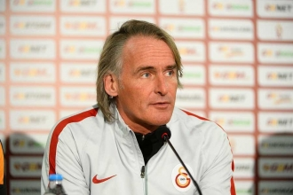 Galatasaray'da Riekerink'in görevine son verildi