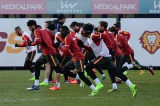 Igor Tudor, Galatasaray'ın başında ilk idmanına çıktı