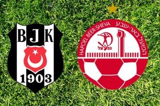 Hapoel Beer-Sheva ile Beşiktaş'ın 11'i belli oldu