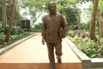 Küba'dan Gabriel Garcia Marquez'in onuruna heykel