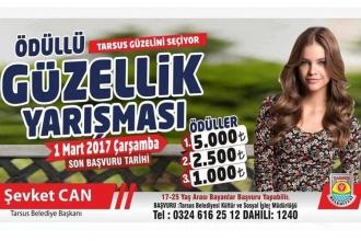 Tarsus Belediyesi'nin 8 Mart etkinliği: Güzellik yarışması!
