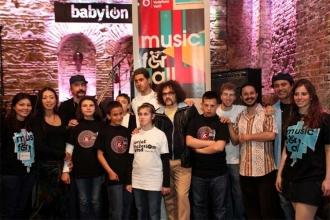 'Herkes İçin Müzik' Social Inclusion Band ile Babylon'da