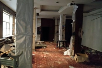 Muammer Karaca Tiyatrosu çürümeye terk edildi