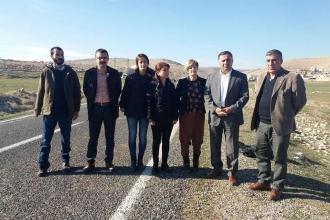 İHD ve Diyarbakır Barosu'nun Koruköy'e girişi engellendi