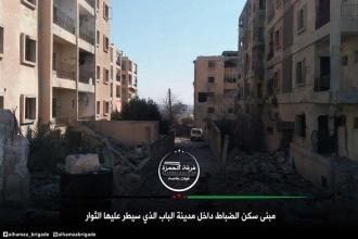 'Fırat Kalkanı' güçleri el Bab'da ilerliyor