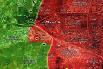 Suriye ordusundan Halep'in güneybatısında sürpriz taarruz