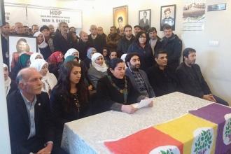 HDP Van İl Örgütü: Milyonların iradesine darbe vuruldu!