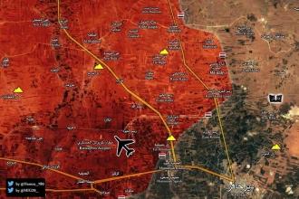 Suriye ordusu, IŞİD'in ikmal yolunu kesti
