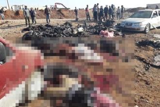 IŞİD, el Bab'da bombalı araçla saldırdı: 60 ölü