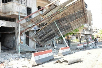 Humus'ta askeri üslere çifte intihar saldırısı: En az 15 ölü