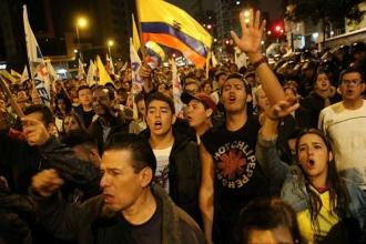 Ekvador halkı Correizm'i terk ediyor