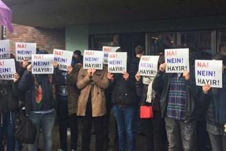 Almanya'da 'Hayır' kampanyası