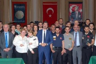 Türkiye Bilardo Federasyonu ödül töreni düzenledi