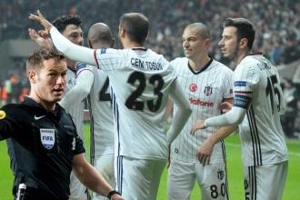 Beşiktaş'ın Avrupa maçına Hollandalı hakem