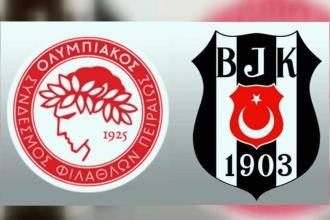 Beşiktaş çeyrek final yolunda avantaj sağladı: 1-1