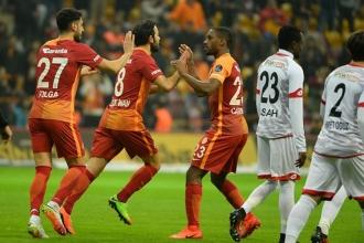 Galatasaray'dan zorlu 3 puan