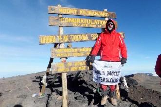 Kilimanjaro'dan 'Munzur özgür akacak' mesajı