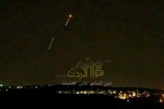 İsrail hava saldırısı düzenledi, Suriye yanıt verdi