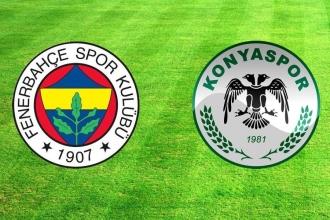 Fenerbahçe evinde, Konyaspor'a 3-2 mağlup oldu