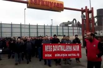 Sarkuysan işçisi: Gemiler yandı, geri dönüş yok artık!