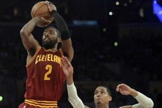 Kyrie Irving'den Lakers'a 46 sayı