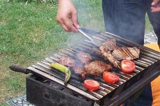 Mangalda et pişirirken 15 santim kuralına dikkat
