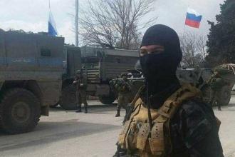 Rusya askerleri Efrin'de