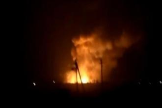 Ukrayna'da cephanelik patladı: Binlerce kişi tahliye edildi