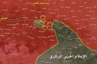 Suriye ordusu, Deyr Hafer'i tamamen kuşattı