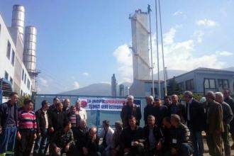 Nursan işçilerinin eylemi 4. gününde