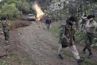 Cihatçılar, Lazkiye kırsalında operasyona hazırlanıyor