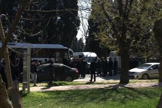 YTÜ'de 17 öğrenciye 'hayır' gözaltısı
