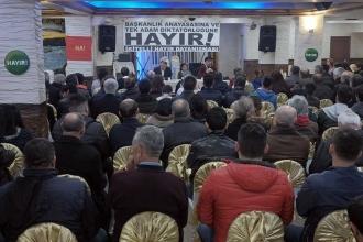 İkitelli'de emekçiler referandumu tartıştı