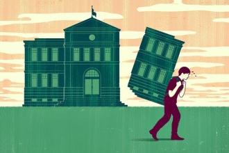 Bir kukla tiyatrosu:Üniversiteler
