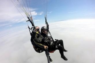 Tekirdağ'da yamaç paraşütü sezonu açıldı