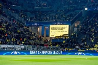 Borussia Dortmund'dan Monaco taraftarına teşekkür