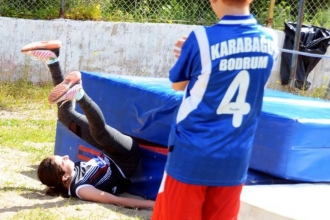 Bodrum'da atletizm skandalı