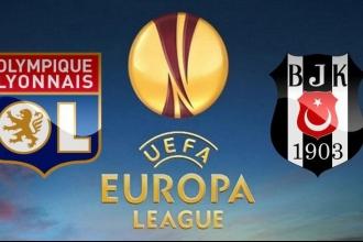 Beşiktaş deplasmanda Olympique Lyon'a 2-1 yenildi