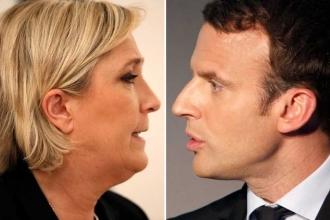 Fransa'da ilk turun galibi Macron