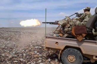 Suriye'nin güneyinde ABD destekli ÖSO ile ordu çatıştı