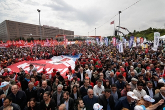 Big, jubilant, mass May Day demos in Turkey despite the state of emergency