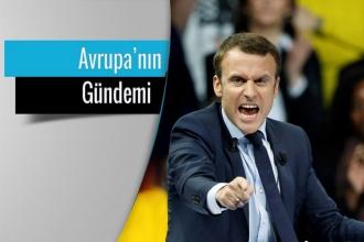 Avrupa Macron'u tartışıyor